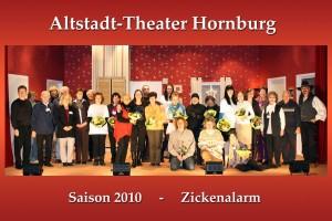 Saison 2010 - Zickenalarm