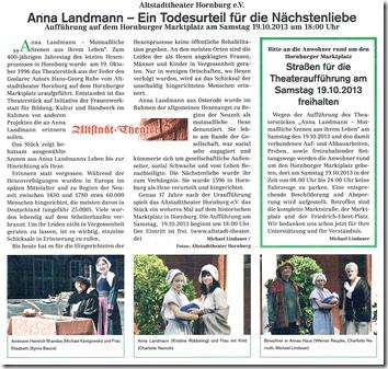 Hornburger Anzeigenblatt Anna Landmann 17102013