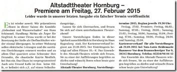 Hornburger Anzeigenblatt Liebeslust 14012015